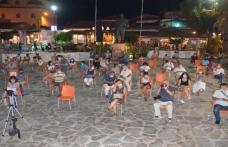 Marmaris'te Sosyal Mesafeli Klasik Müzik Konseri