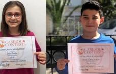 """Marmarisli İki Öğrenci """"Uluslararası Caribou Matematik Yarışması""""nda Dünya Birincisi Oldu"""