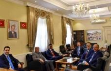 Sri Lanka Ankara Büyükelçisi Vali Orhan Tavlı'yı Ziyaret Etti