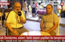 """ORTACA'DA BALKAN DONDURMASI """"KÜLAH""""TA YENİR"""