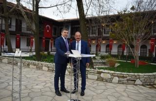 BAŞKAN SAATCI 'FOX TV - ÇALAR SAAT' PROGRAMINA...