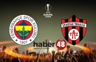 Spartak Trnava - Fenerbahçe maçı ne zaman, saat...