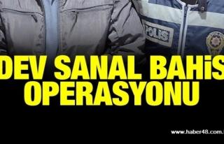 MUĞLA'DA EŞ ZAMANLI OPERASYON