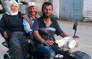 ENGELLİ ANNE-BABASINI TAŞIDIĞI MOTORU ÇALDILAR