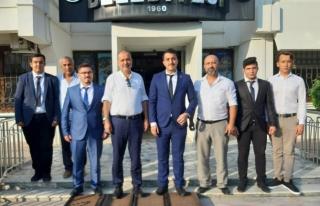 BAŞKAN ALİM UZUNDEMİR'E ORTACA ÜLKÜ OCAKLARI'NDAN...