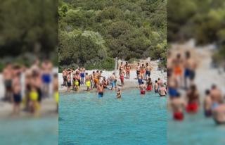 BODRUM'DA DENİZDE FENALAŞAN BELÇİKALI TURİST...