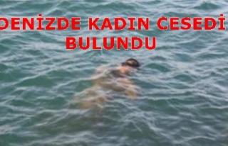 BODRUM'DA DENİZDE KADIN CESEDİ BULUNDU