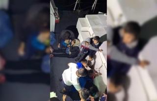 DATÇA'DA DENİZE AÇILMAK ÜZERE OLAN 37 KAÇAK...