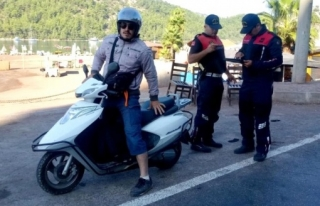 MUĞLA İL JANDARMA KOMUTANLIĞI MOTOSİKLET DENETİMLERİNE...