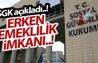 SGK ERKEN EMEKLİ OLUNABİLEN MESLEK SAYISINI 45'E...