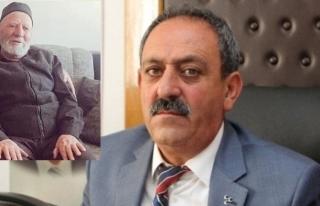 MHP Muğla İl Başkanı Mehmet Korkmaz'ın babası...