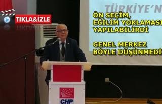 Adem Zeybekoğlu'ndan Rest: İl Başkanı Başarısızsa...