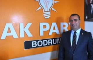 AK Parti Bodrum İlçe Başkanı Ömer Özmen İstifa...