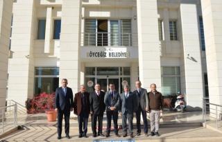 Barış Saylak'tan Köyceğiz Belediye Başkanı...