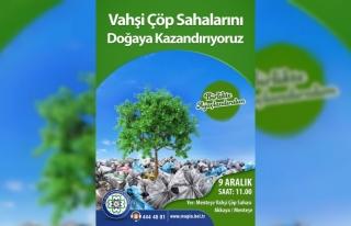 Büyükşehir Eski Çöp Sahalarına 3 Bin 500 Fidan...