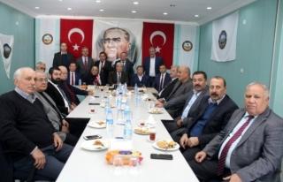 Esnaf Kefalet Kooperatifleri Birliği'nin Toplantısı...