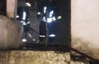 Evinde Çıkan Yangın Hayatına Mal Oldu