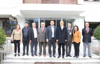 Evren Tezcan ve Yönetimi Başkan Alim Uzundemir'i...