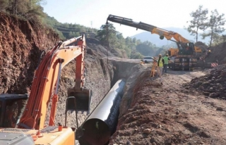Fethiye'de Karacaören HİS Göleti Yapıldı