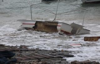 Fırtına Bodrum'da Büyük Hasara Neden Oldu