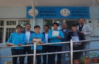 Marmaris Spor Kulübü'nden Bozburun Öğrencilerine...