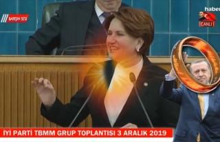"""Meral Akşener'den """"Yüzüklerin Efendisi""""..."""