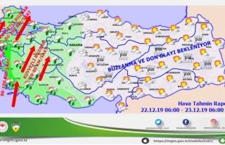 Meteoroloj Uyardı: Muğla'ya Kuvvetli Yağış...