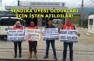 Muğla'da Tüvtürk İşçilerinin 500 Günlük...