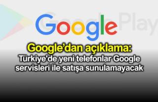 Satışa Sunulacak Yeni Telefonlarda Google Uygulamaları...