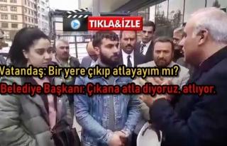 Trabzon Belediye Başkanından Vatandaşa Garip Cevap