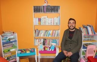 Yarım Han Kitap Kafe Çocukları Sevindirecek