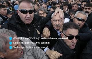 KILIÇDAROĞLU'NA ŞEHİT CENAZESİNDE SALDIRI