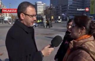 Bakan Kasapoğlu Sokağa Çıktı Vatandaşla Röportaj...