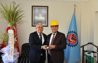 Başkan Muhammet Tokat Yatağan'da Ziyaretlerde...