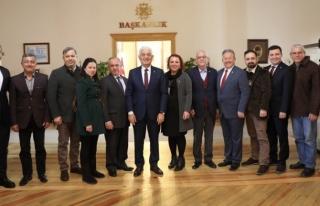 CHP Yatağan İlçe Başkanlığı Başkan Gürün'ü...