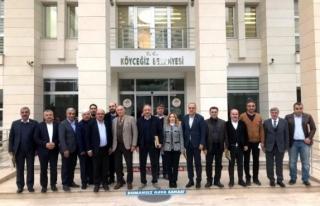 Cumhur İttifakı'nın Muğla Temsilcileri Köyceğiz'de...
