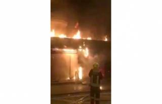 Fethiye'deki Tavukçuda Çıkan Yangın Korkuttu!