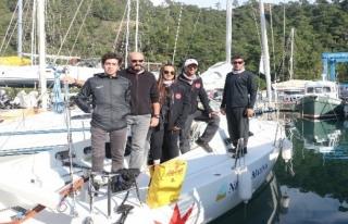 Marmaris'in Engelsiz Yelkencileri: Tek Engelleri...
