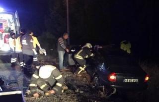 Muğla'dan Denizli'ye Giden Araç Kaza Yaptı:...