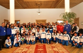 Muğla'nın Başarılı Sporcuları Başkan Gürün'ü...