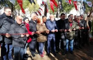 Muğla'nın Menteşe İlçesinde Basın Parkı...