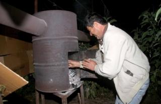 Fethiye'deki Seralarda Zirai Don Nöbeti!