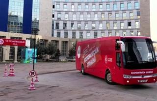 """""""Kırmızı Otobüs"""" 12 İlde Kooperatifçiliği..."""