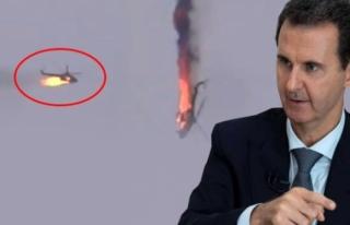 Rejime Ait Helikopter Düşürüldü!