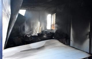 Bodrum'da İşçi Konteynerlerinde Yangın Çıktı