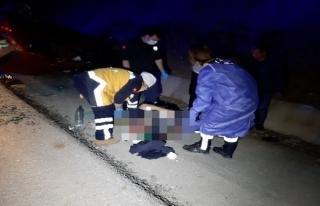 Fethiye'de Köpeğe Çarpan Otomobil Devrildi:...