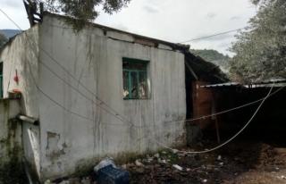 Milaslı Kore Gazisinin Evi Yandı