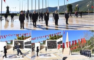 Muğla'da 18 Mart Çanakkale Zaferi ve Şehitleri...