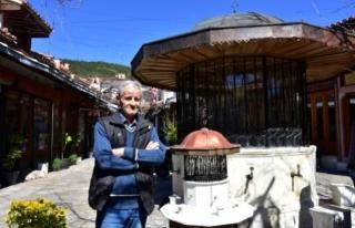 Tarihi Arasta Çarşısı'ndaki Şadırvanın...