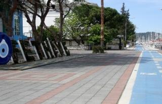 Fethiye Sokaklarını Sessizlik Bürüdü